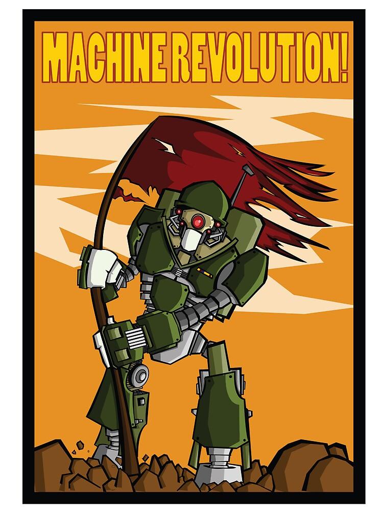 Machine Revolution by Ruben Rade