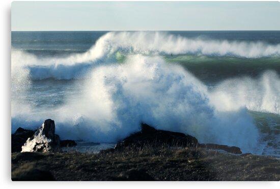 Splash And Wave by Annie Underwood