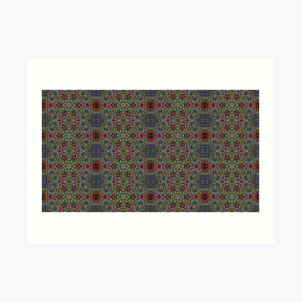 Color conections Art Print