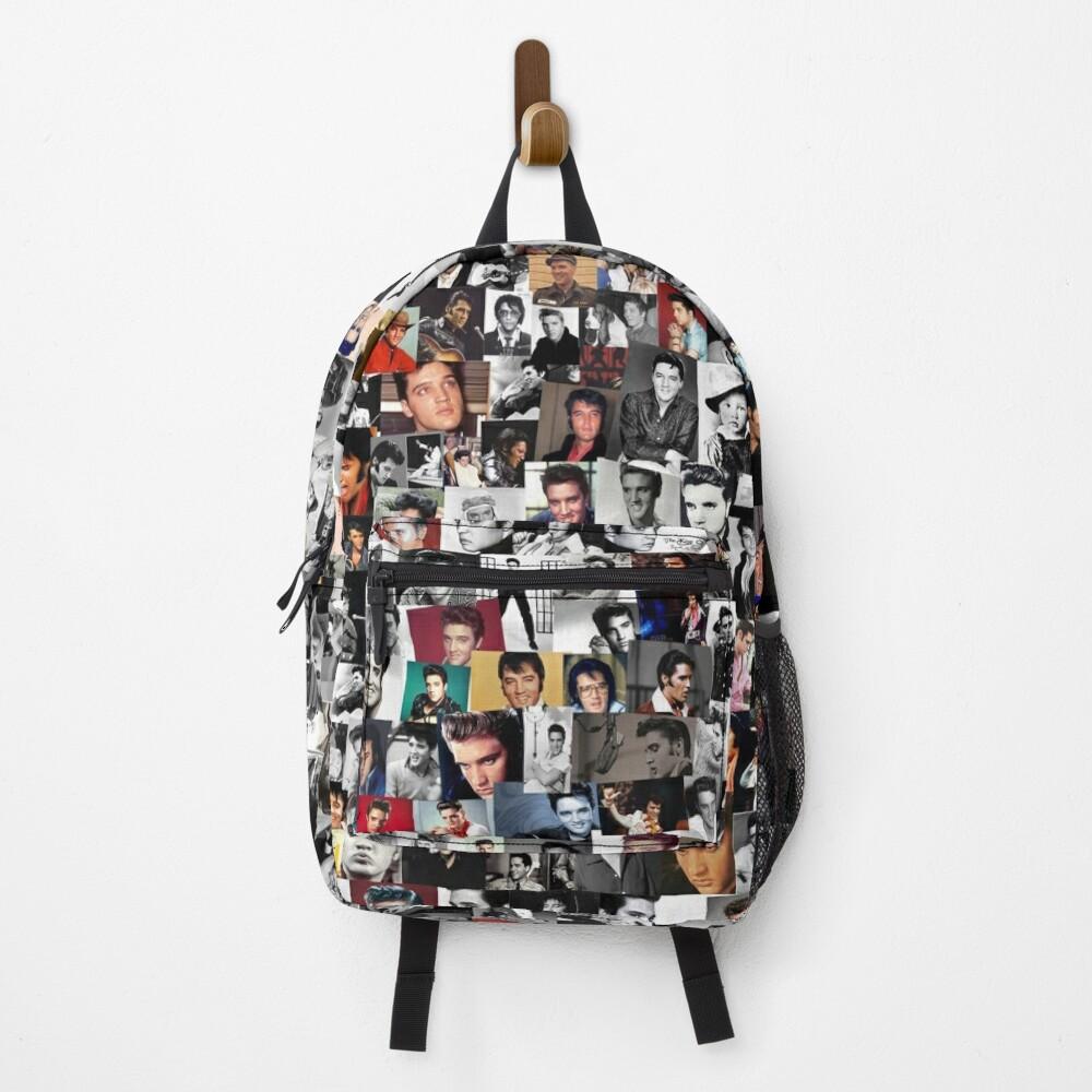 Elvis presley collage Backpack