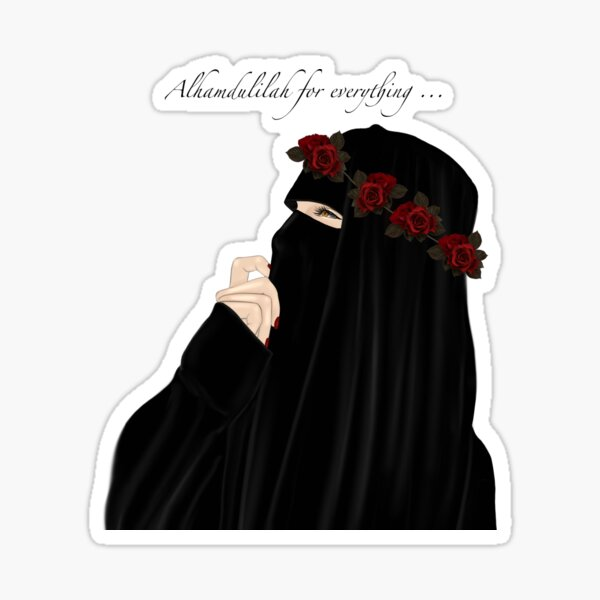 Niqab Hijab Princess Drawing Wearing Crown Sticker By Imanitasong Redbubble See what _hijab_is_my_crown (_hijab_is_my_crown) found on we heart it, your everyday app to get lost in what you love. redbubble