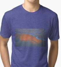 The Sky in the Sand. Tri-blend T-Shirt