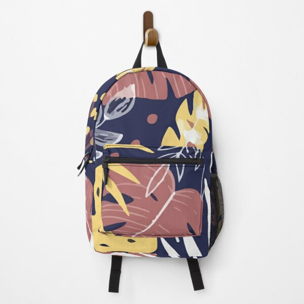 Colorful with tropical plants Backpack