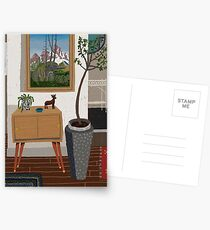 Townhouse entry Postcards