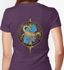 French Desert Survival Women's Fitted T-Shirt