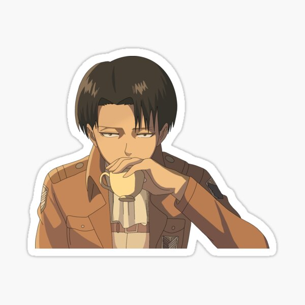 Drinking Levi Sticker
