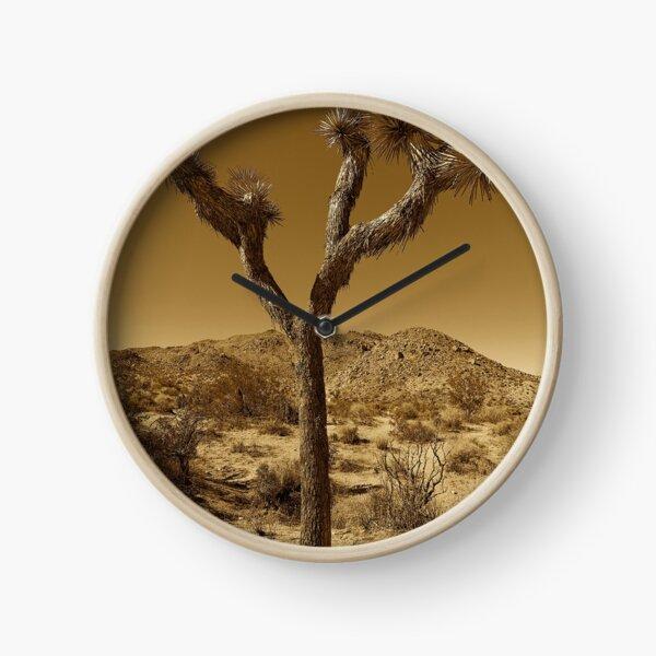 Joshua Tree by Gina Lee Ronhovde Clock
