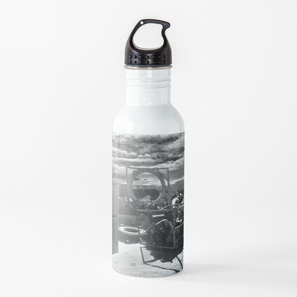 Mojave Desert by Gina Lee Ronhovde Water Bottle