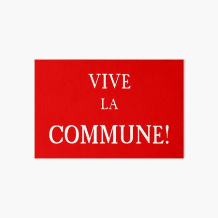 Bandera de la Comuna de París Lámina rígida