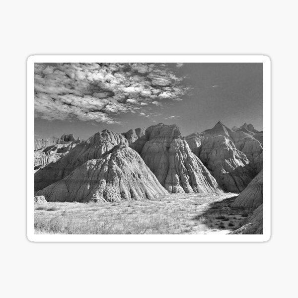 Badlands by Gina Lee Ronhovde Sticker