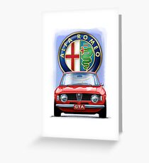 Alfa Romeo GTA Greeting Card