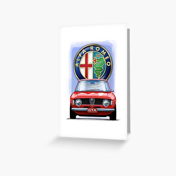 Alfa Romeo GTA Tarjetas de felicitación