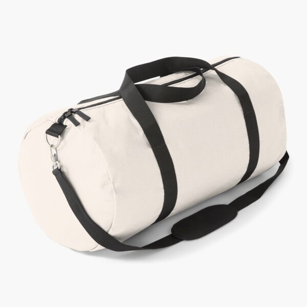 Off Course. Simply Off White Bag for Men and Women. Sundaybest Duffle Bag