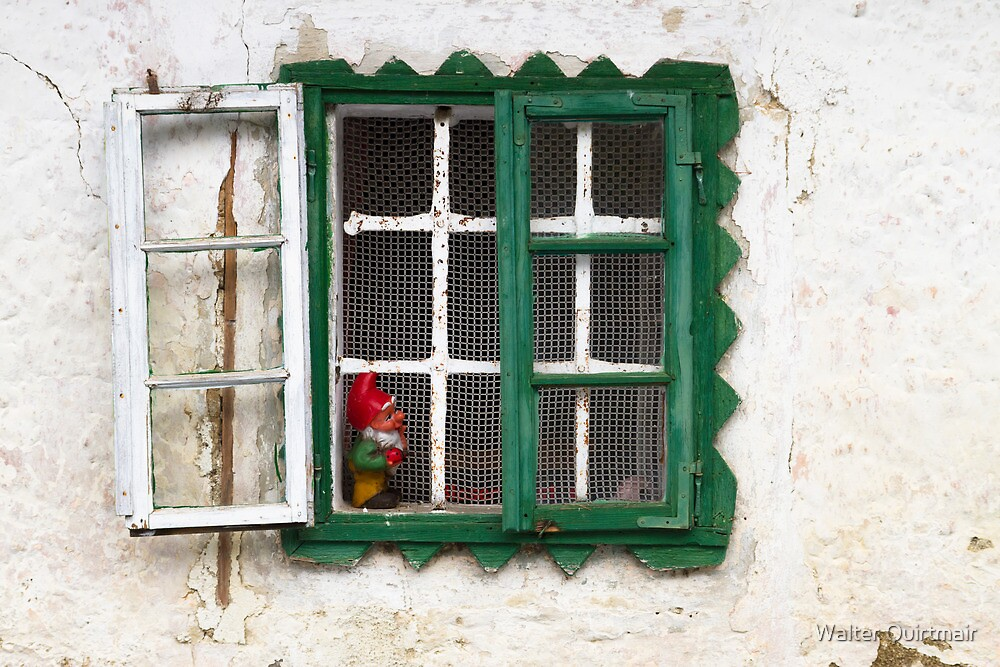 Ye Old Window by Walter Quirtmair
