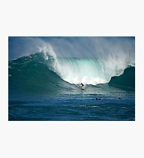Waimea Bay Green Monster Photographic Print