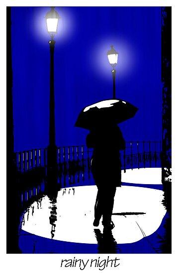 Rainy night by oreundici