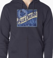Blue Dream Zipped Hoodie