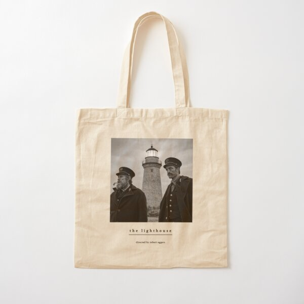The Lighthouse directed by Robert Eggers with Robert Pattinson, Willem Dafoe Cotton Tote Bag