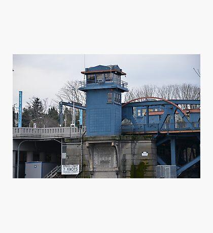 Fremont Bridge, Seattle, Washington Photographic Print