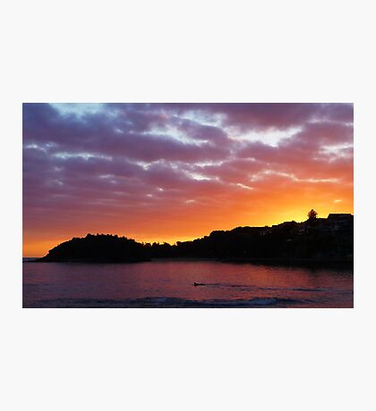 Shelly Beach Sunrise Photographic Print