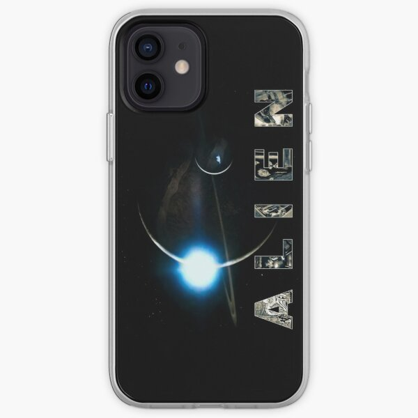 Alien Movie Text - Duo-tone iPhone Soft Case