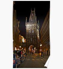 Powder Tower, Prague Poster