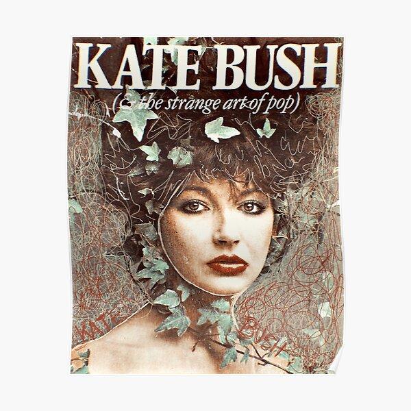 Kate Bush Strange Art Poster