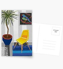 Yellow chair Postcards