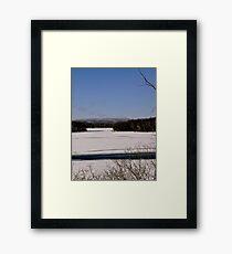 Ottawa River, Ottawa, ON Framed Print