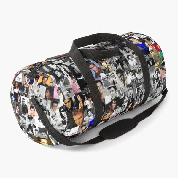 Elvis presley collage Duffle Bag