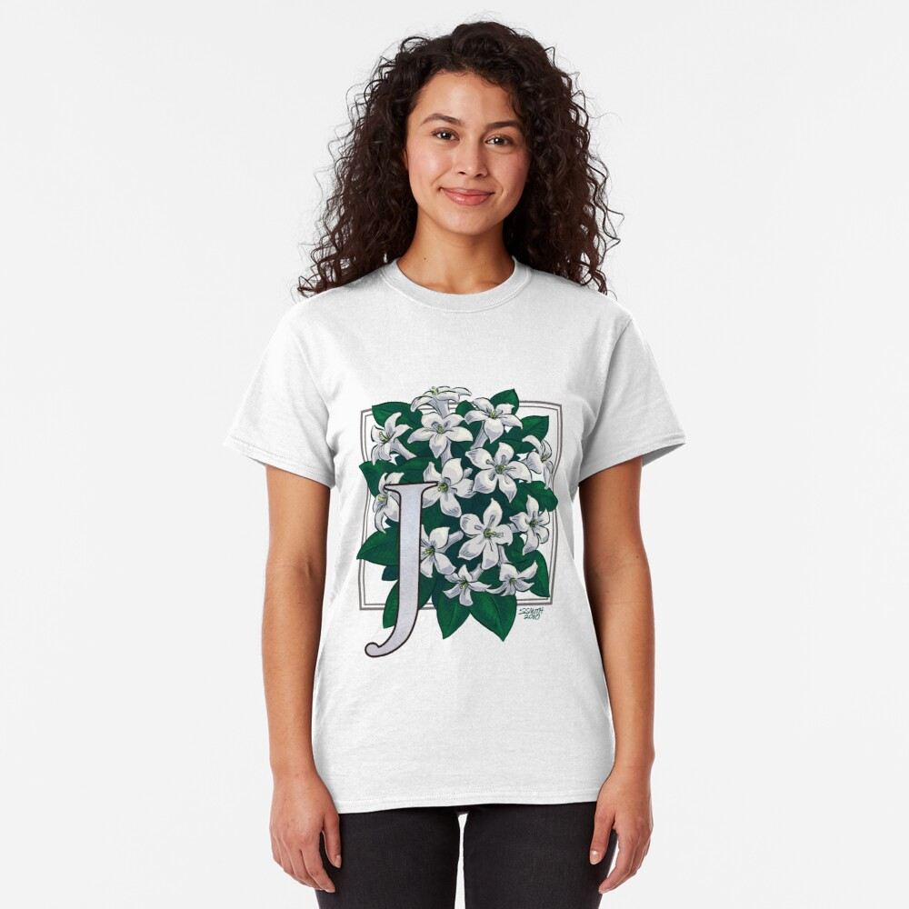 J is for Jasmine Classic T-Shirt