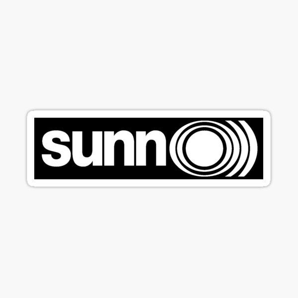Sunn O))) Logo Sticker