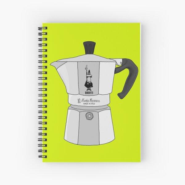 Bote de Moka Bialetti Coffee Metal Cuaderno de espiral