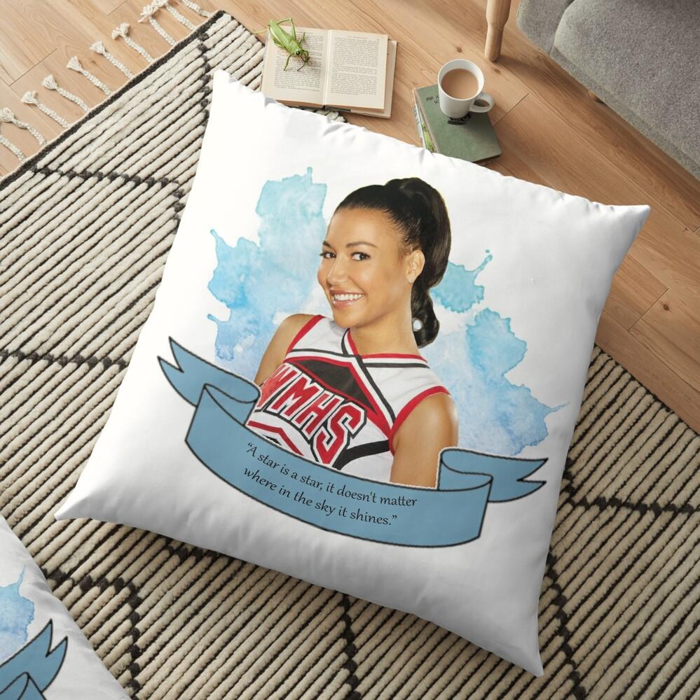 Glee Santana Lopez Watercolour Floor Pillow