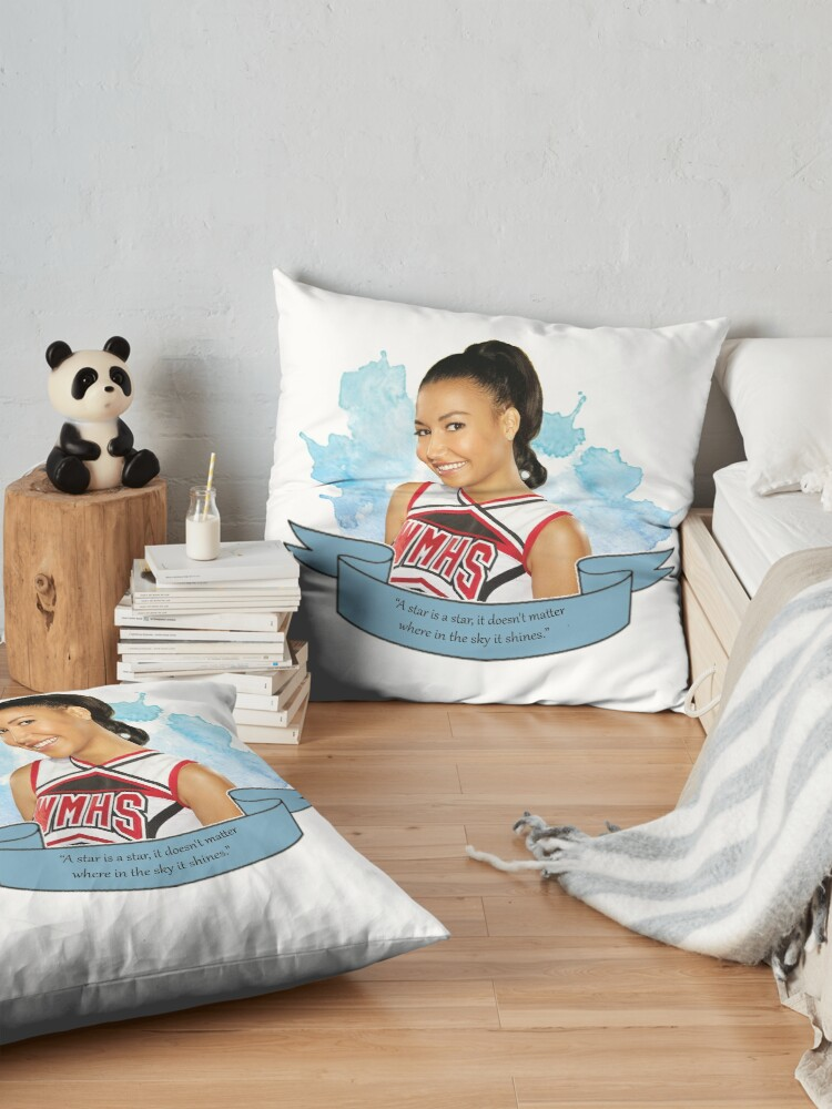 Alternate view of Glee Santana Lopez Watercolour Floor Pillow