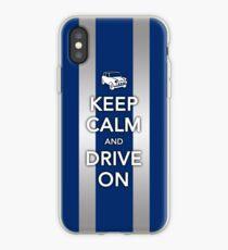 Mini Bonnet-Blue iPhone Case