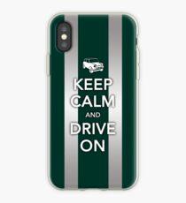 Mini Bonnet-British Racing Green iPhone Case
