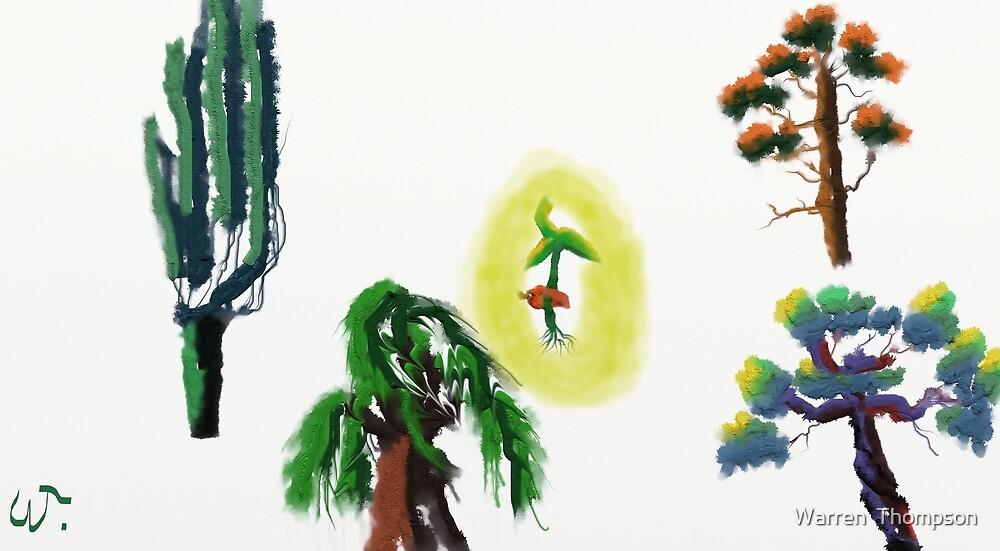 Tree Evolution 2 by Warren  Thompson