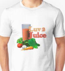 Luv 2 juice by Valxart.com Unisex T-Shirt