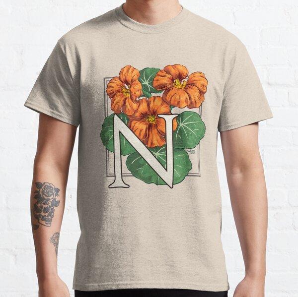 N is for Nasturtium Classic T-Shirt