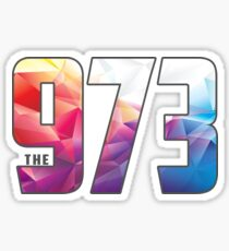 the 973 Sticker