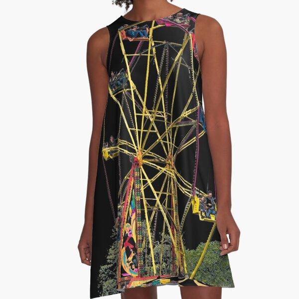 Ferris Wheel  A-Line Dress