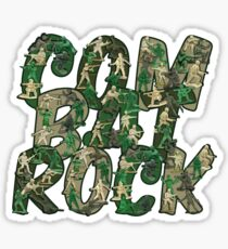 Combat Rock Sticker