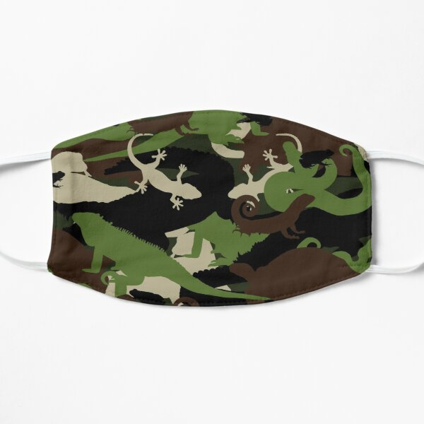 Herpetology Camouflage Flat Mask