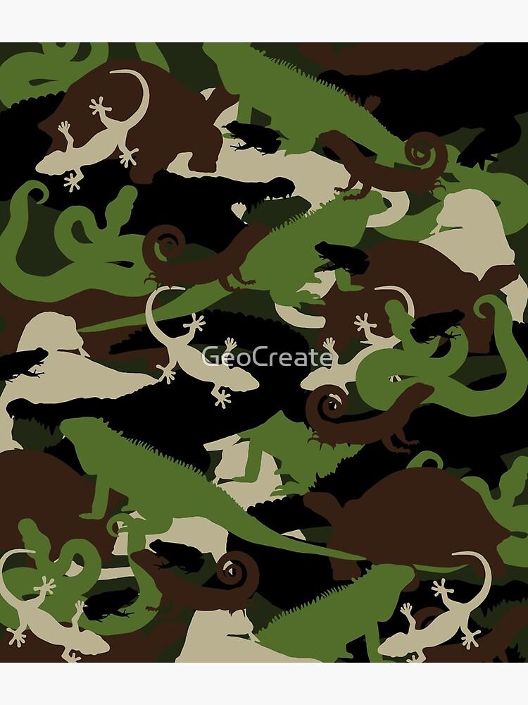 Herpetology Camouflage by GeoCreate