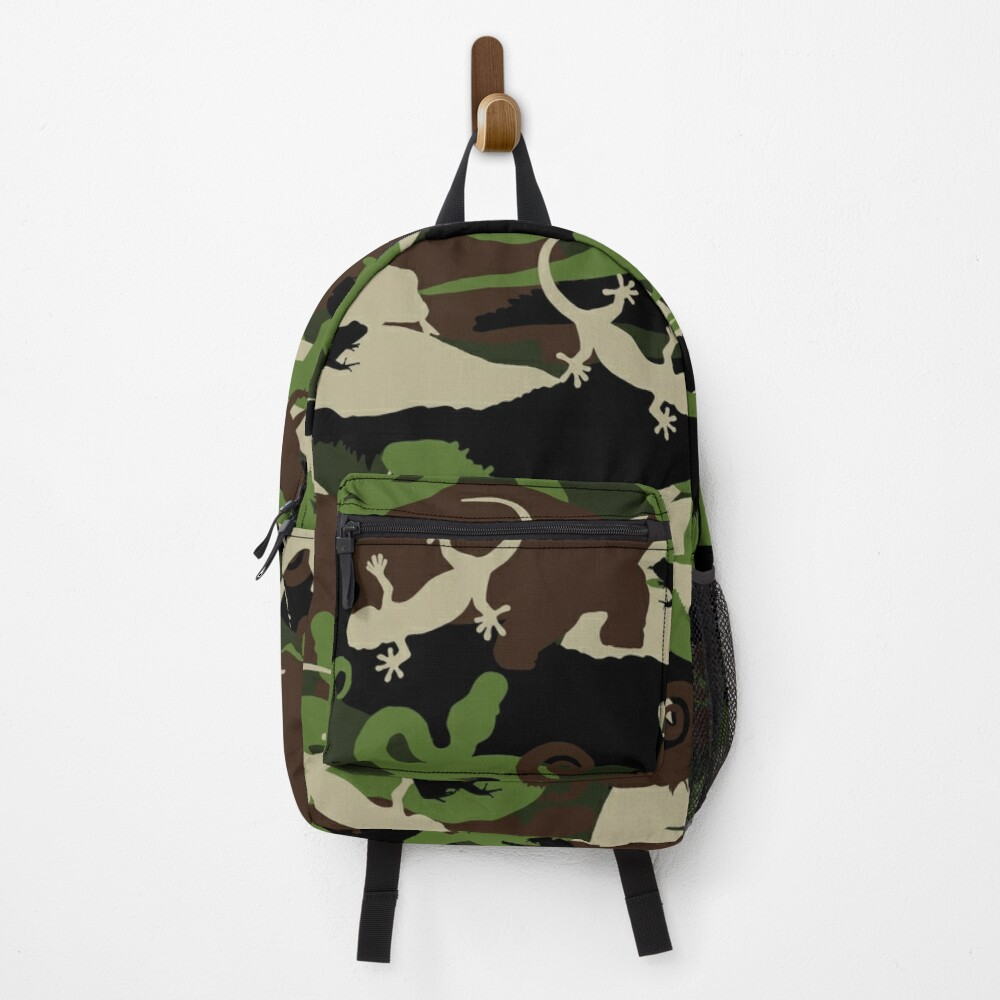 Herpetology Camouflage Backpack