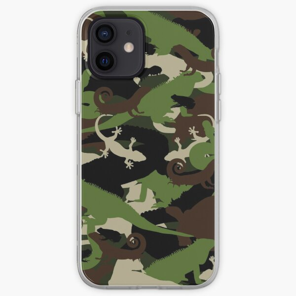Herpetology Camouflage iPhone Soft Case