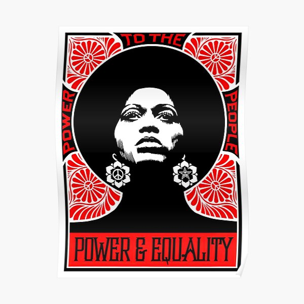 Angela Davis - Power to the People (HQ) Poster