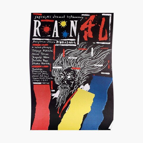 Ran by Akira Kurosawa Poster