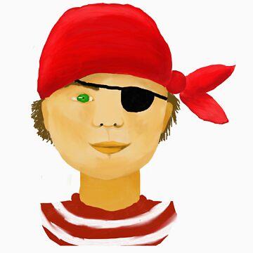 Little Pirate Boy by Andrea-Meyer